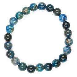 Apatite round bead bracelet (8mm)