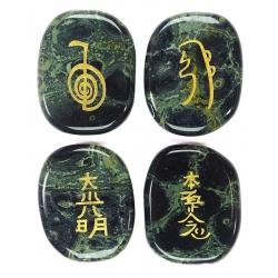 Reiki symbol stones Kambaba jasper