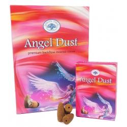 12 packs Angel Dust backflow incense cones (Green Tree)