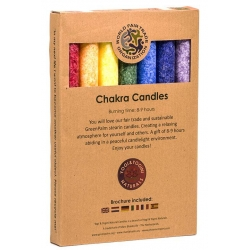 Chakra scented candles set of 7 candles