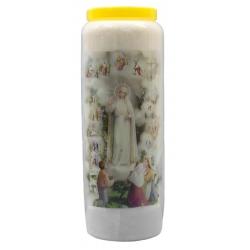 Novena candle Fatima