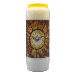 Novena candle Prayer to the Holy Spirit