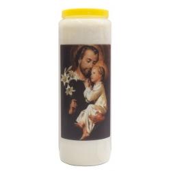 Novena candle St. Joseph