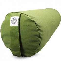 Bolster canvas solid olive