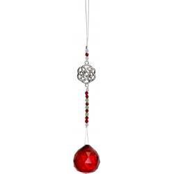 Feng-Shui kristalhanger (rood)