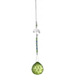 Feng-Shui kristalhanger (licht groen)