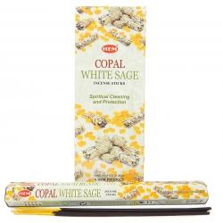 6 packs Copal White Sage incense (HEM)