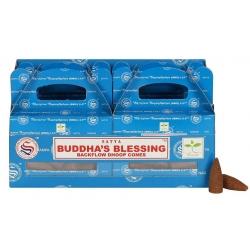 6 packs Buddha's Blessing Backflow incense cone (Satya)