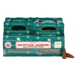 6 packs Egyptian Jasmine Backflow incense cone (Satya)