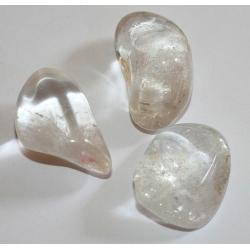 Rock crystal tumbled stone 15-20mm