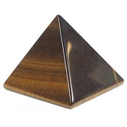 Tiger eye pyramid (4cm)