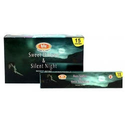 12 pakjes Sweet Dream & Silent Night wierook (BIC)