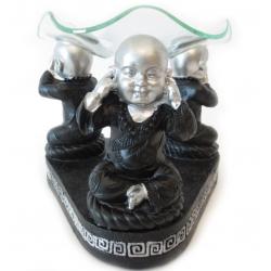 Shaolin monnik oliebrander (Horen, zien, zwijgen)