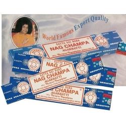 Satya Sai Baba Wierook.12 Packs Original Nag Champa Incense Satya Sai Baba