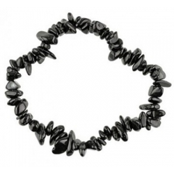 Zwarte Toermalijn Edelsteen splitarmband