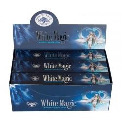 12 pakjes White Magic wierook (Green tree)