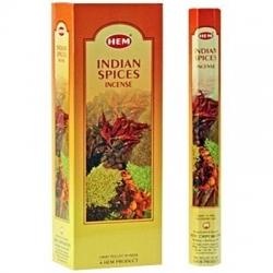 6 pakjes Indian Spices wierook (HEM)