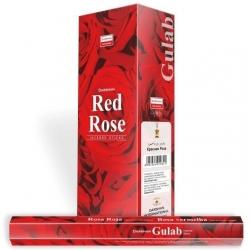 Darshan Red Rose wierook (per doos)