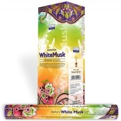 Darshan White Musk wierook (per doos)