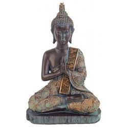 Boeddha in gebed (antieke finish Thailand)