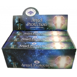 12 pakjes Angel Protection wierook (Green tree)