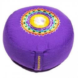 Meditatiekussen 7e chakra geborduurd (8107)