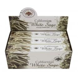 12 pakjes Californian White sage wierook (Green tree)