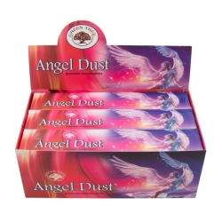 12 pakjes Angel Dust wierook (Green tree)