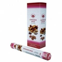 6 pakjes Cinnamon Spice wierook (Green Tree)