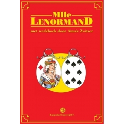 Lenormand fortune cards with workbook - Aimée Zwitser (NL)