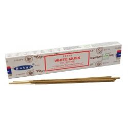 White Musk wierook (Satya)