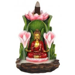 Colorful Buddha Backflow incense burner