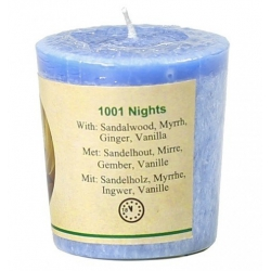 Scented candle 1001 Nights