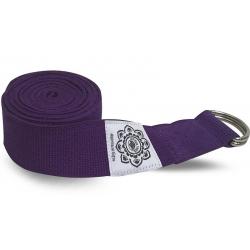 Yoga belt purple