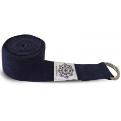 Yoga belt navy blue