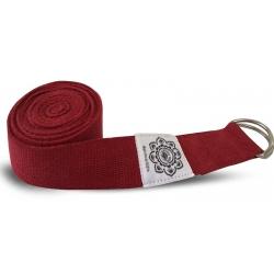 Yoga belt red