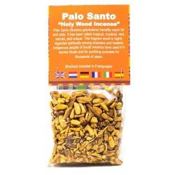 Copeaux de bois de Palo Santo (20 grammes)
