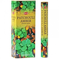 Patchouli Amber incense (HEM)