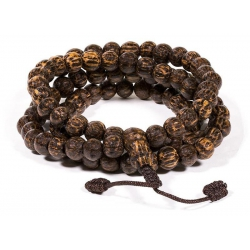 Mala Coconut 108 beads + bag