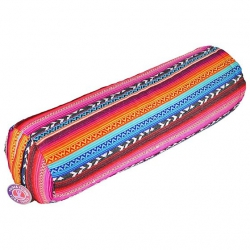 Bolster tribal colorful round
