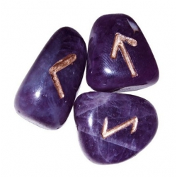 Runic stones of Amethyst