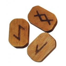 Runic symbols of Wood