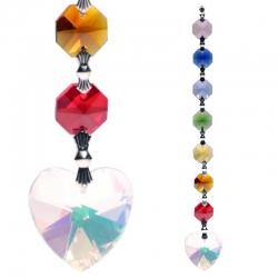 Aurora Heart Feng Shui chakra crystals