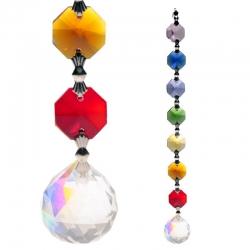 Aurora Sphere Feng Shui chakra crystals