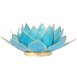 Lotus mood light - Aquamarine blue