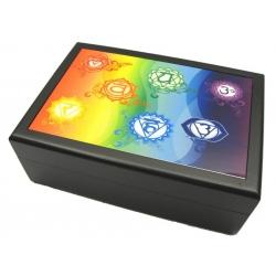 Tarot box 7 Chakra (black)