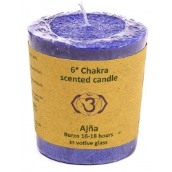 Scented candle 6th Chakra...