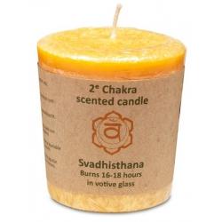 Scented candle 2nd Chakra Swadisthana (balance)