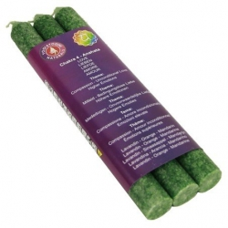 4th Chakra dinner scented candles - Anahata
