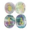 Reiki symbol stones Fluorite